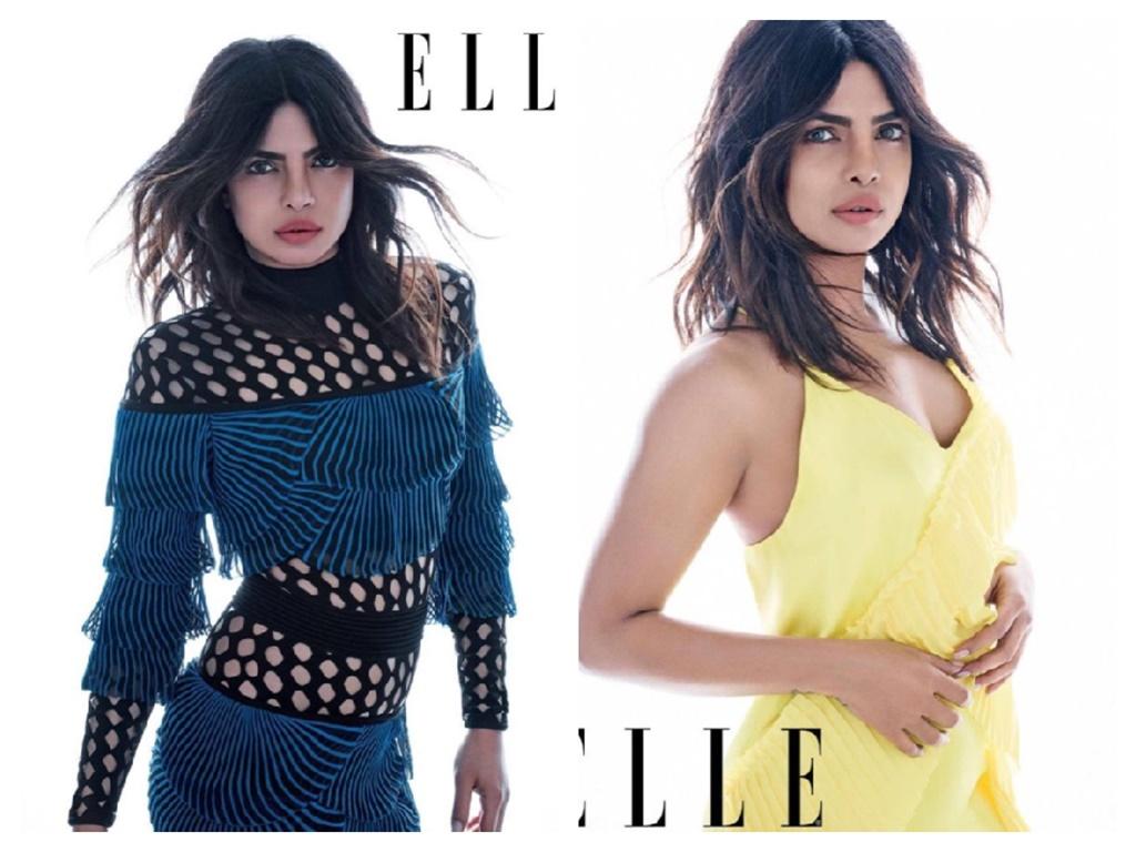 priyanka chopra hot photoshoot for elle magazine 2018 3