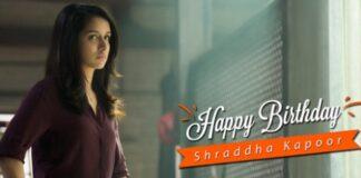 Saaho Movie Team wishes Happy Birthday to Shraddha Kapoor