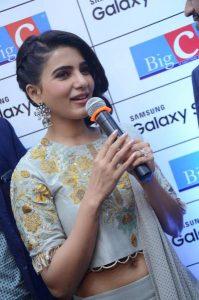 samantha launches samsung s9 mobile at kukatpally bigc photos 1
