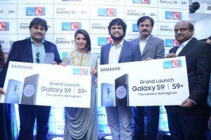 samantha launches samsung s9 mobile at kukatpally bigc photos 10