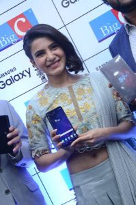 samantha launches samsung s9 mobile at kukatpally bigc photos 15