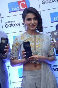 samantha launches samsung s9 mobile at kukatpally bigc photos 16