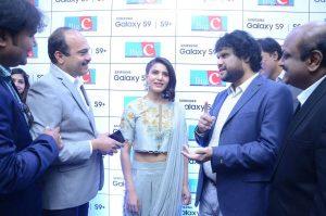 samantha launches samsung s9 mobile at kukatpally bigc photos 5
