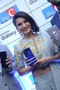 samantha launches samsung s9 mobile at kukatpally bigc photos 9