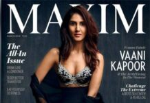 Vaani Kapoor Hot Stunning Look on Maxim India 2018