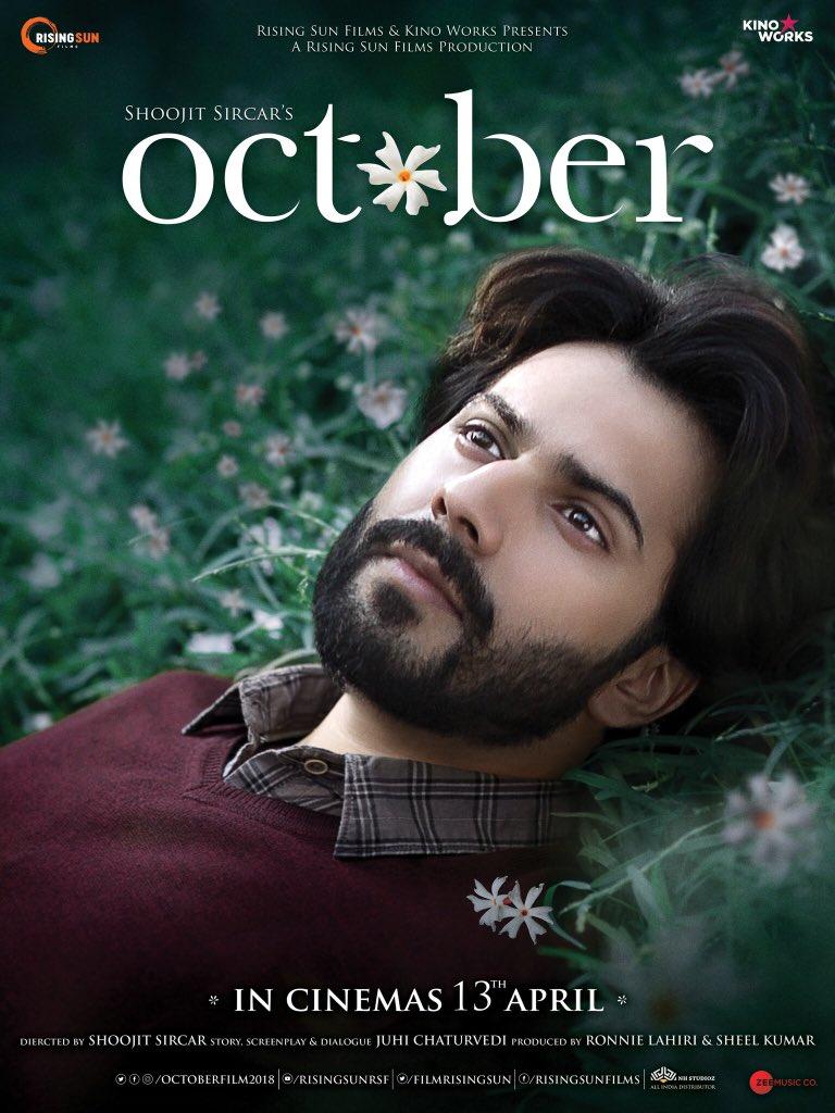 varun dhawan october movie first poster