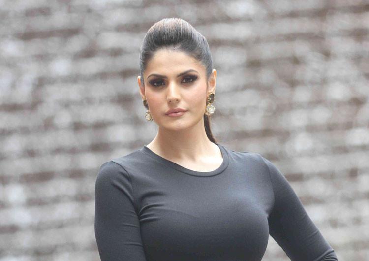 Actress Zareen Khan to Host MTV Troll Police