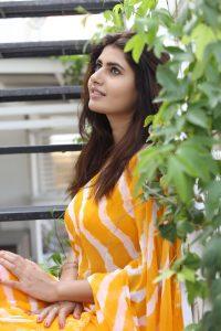 actress ashima narwal latest photos in yellow saree 11