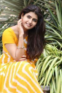 actress ashima narwal latest photos in yellow saree 6