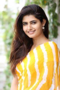 actress ashima narwal latest photos in yellow saree 7