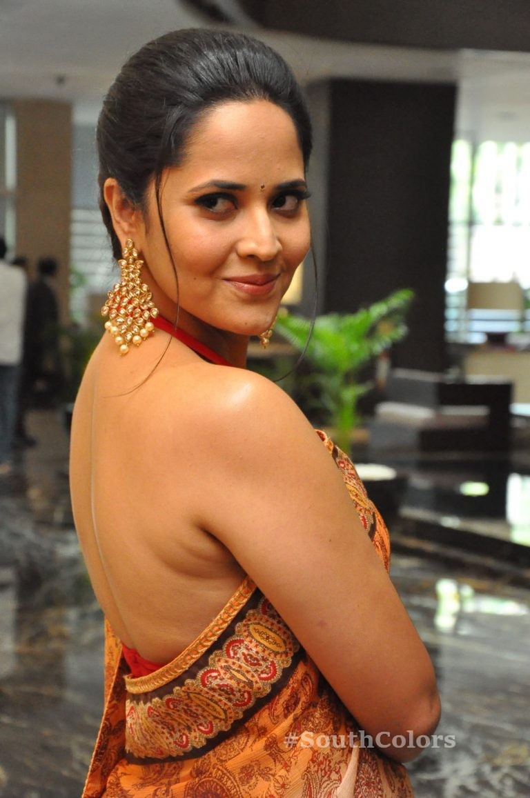 Anasuya Bharadwaj Latest Stills at Rangasthalam Thank You Meet