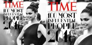 Deepika Padukone in Time 100 Influential People of 2018 list