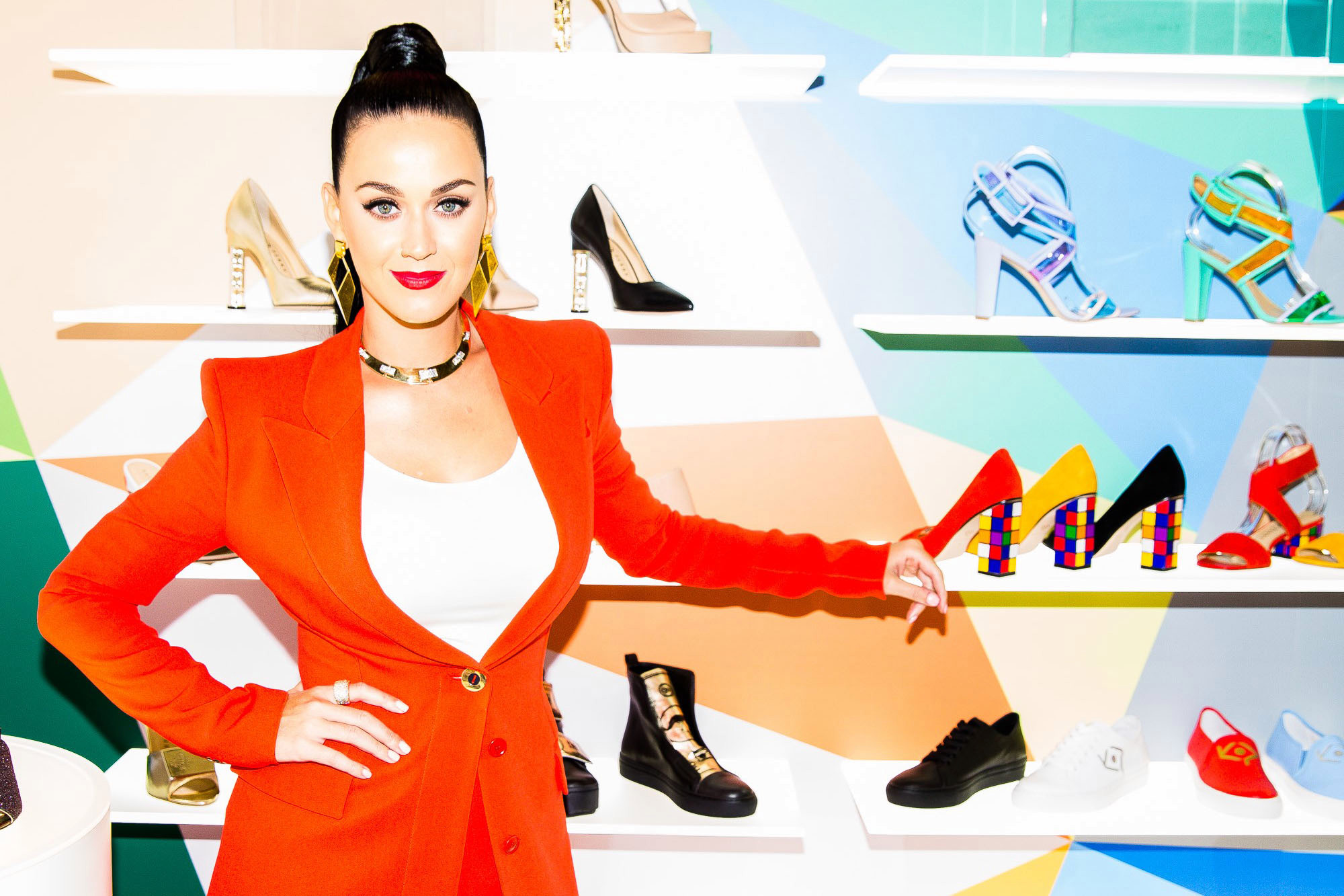Katy Perry launched Scented Jelly Sandal Collection