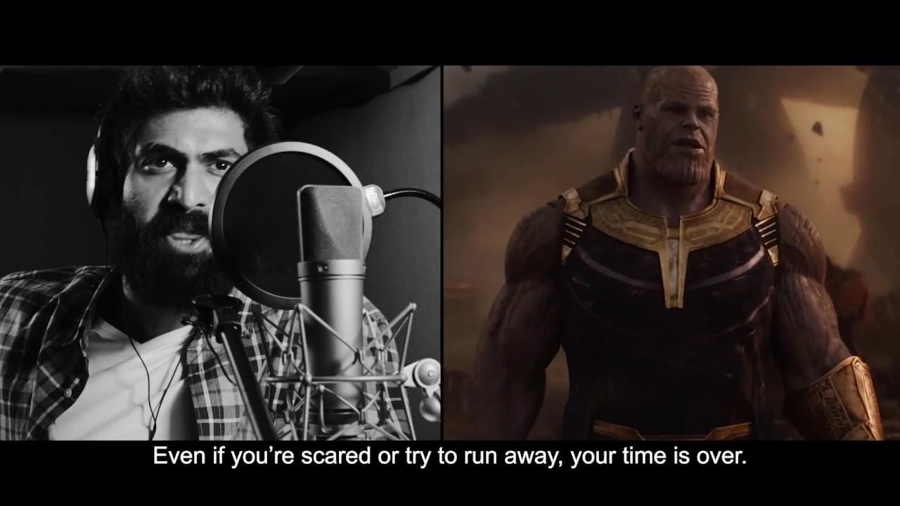 Rana Daggubati Behind The Scenes of Avengers: Infinity War