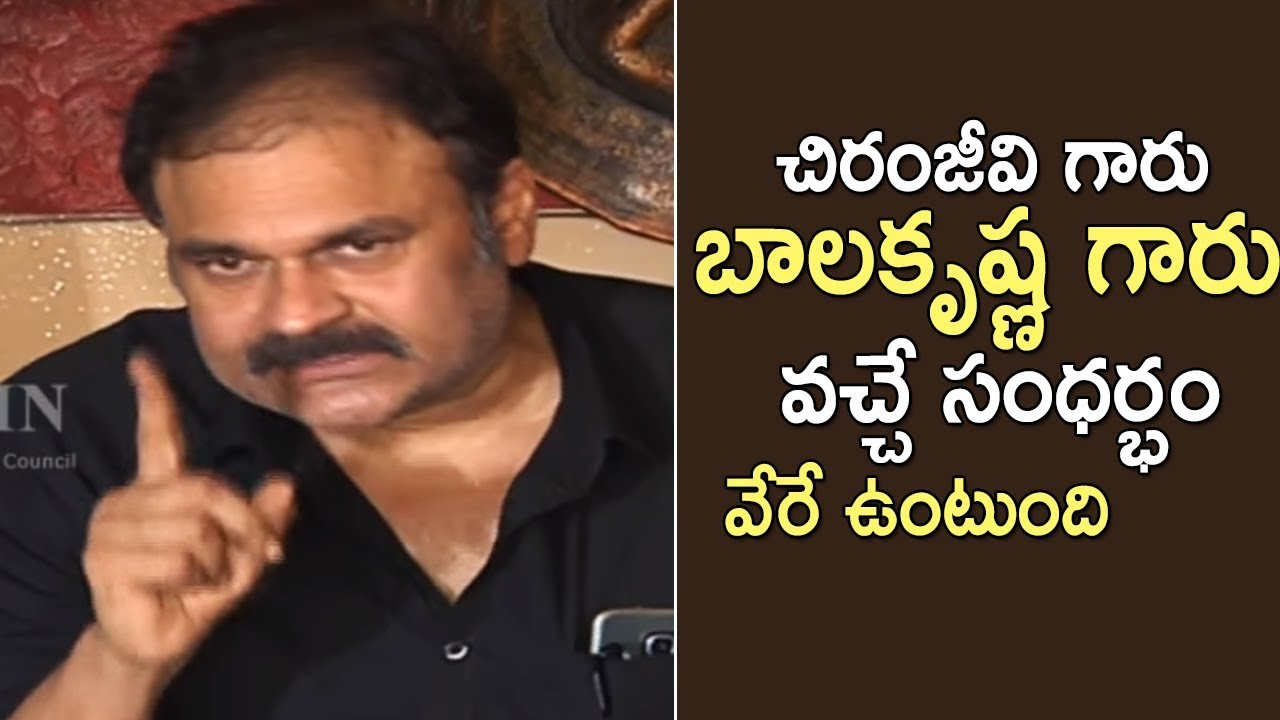 Naga Babu Press Meet On Tollywood Casting Couch
