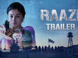 Raazi Movie Official Trailer Starring Alia Bhatt and Vicky Kaushal