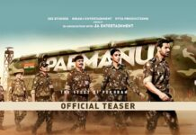 PARMANU The Story Of Pokhran Official Teaser
