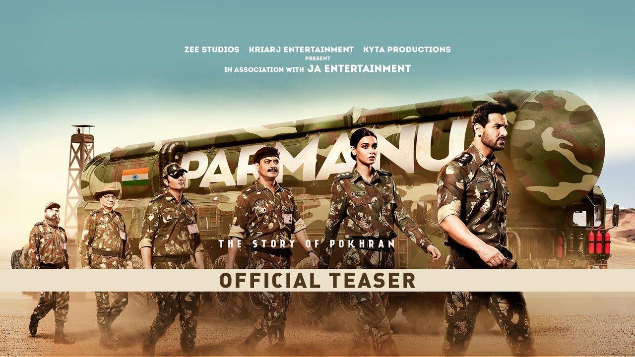 PARMANU The Story Of Pokhran Official Teaser