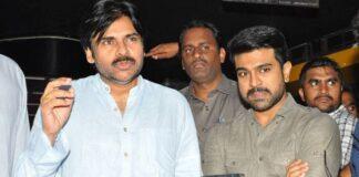 Pawan Kalyan Watched Rangasthalam Movie with Family