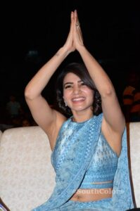 Samantha Akkineni New Photos At Rangasthalam Success Meet