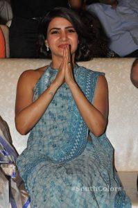 samantha akkineni new photos at rangasthalam success meet 2