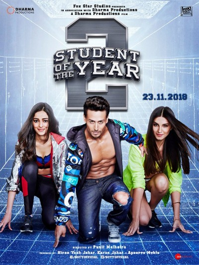Student Of The Year 2 Movie First Look Poster