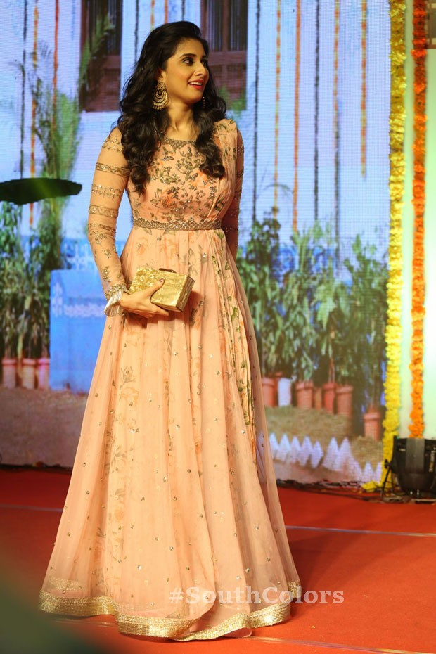 Actress baby shamili latest photos ammamma gari illu pre release event southcolors 11