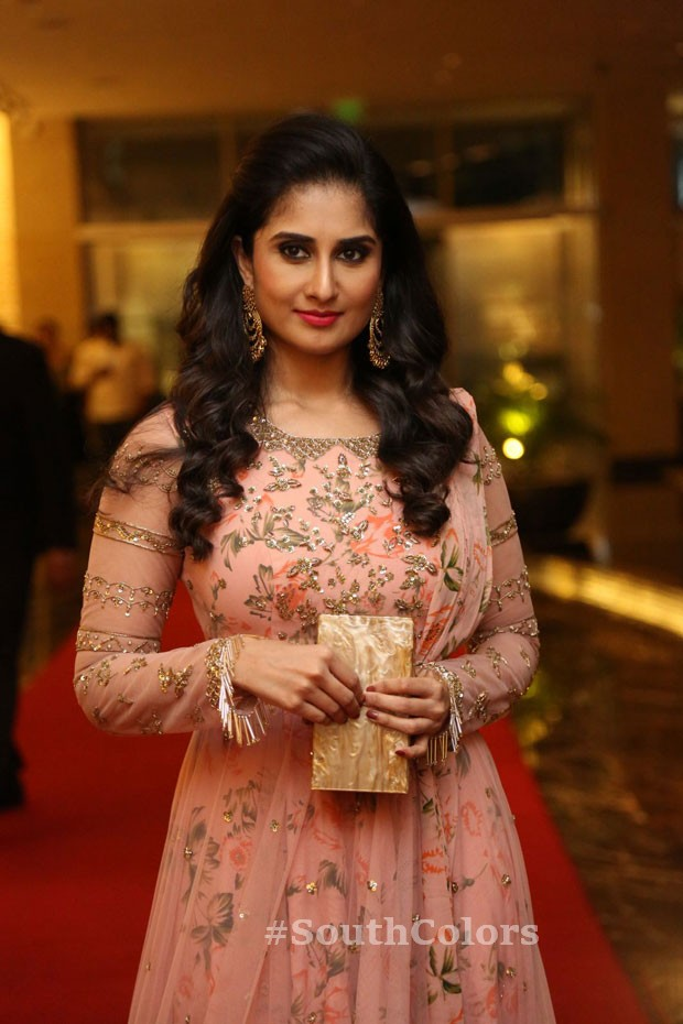 Actress baby shamili latest photos ammamma gari illu pre release event southcolors 6