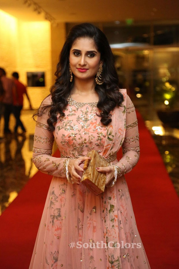 Actress baby shamili latest photos ammamma gari illu pre release event southcolors 8