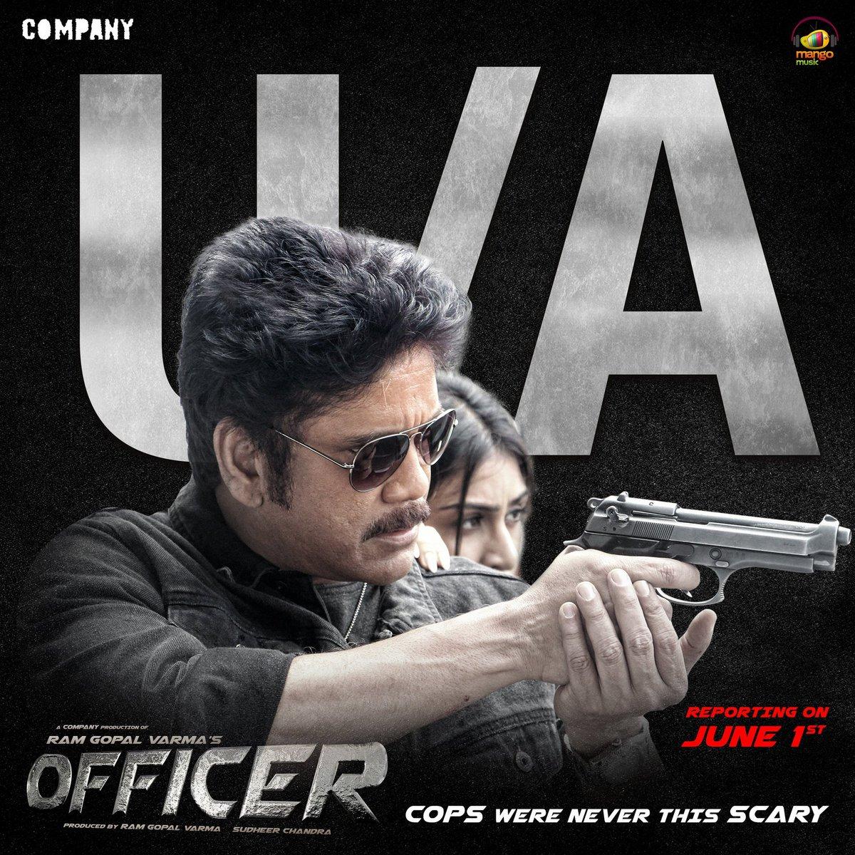 Officer Movie Censor Report