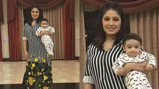 Singer Sunidhi Chauhan Shares Her Son First Picture on Instagram