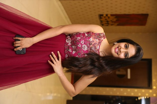 amritha aiyer latest photos at kasi movie pre release event 1