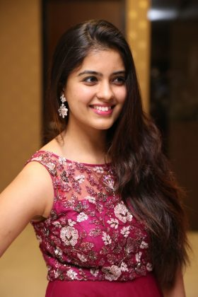 amritha aiyer latest photos at kasi movie pre release event 10