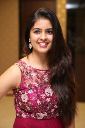 amritha aiyer latest photos at kasi movie pre release event 11