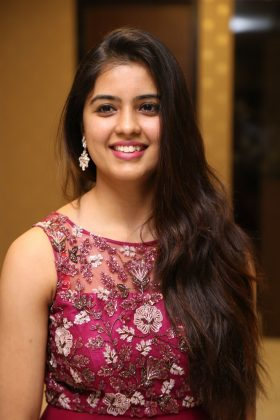 amritha aiyer latest photos at kasi movie pre release event 13