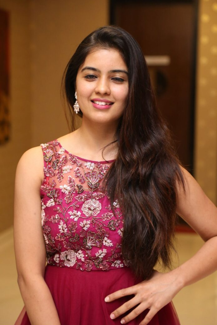 Amritha Aiyer latest Photos at Kasi Movie Pre Release Event