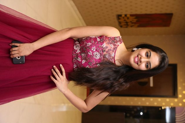 amritha aiyer latest photos at kasi movie pre release event 3