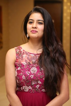 amritha aiyer latest photos at kasi movie pre release event 4