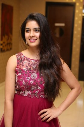 amritha aiyer latest photos at kasi movie pre release event 5