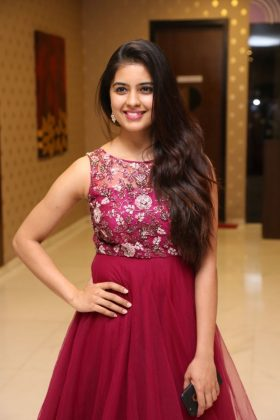 amritha aiyer latest photos at kasi movie pre release event 7