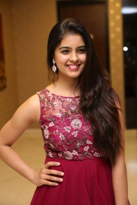 amritha aiyer latest photos at kasi movie pre release event 8