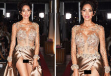 Farrah Abraham Wardrobe Malfunction at Cannes 2018