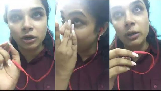 Hari Teja Emotional Talk For Insulting Her In Mahanati Theater