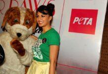 Jacqueline Fernandez awarded PETA India's Digital Activism Award