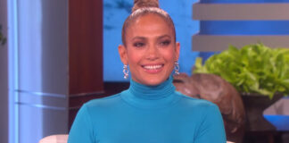Jennifer Lopez Wardrobe Malfunction on The Ellen DeGeneres Show