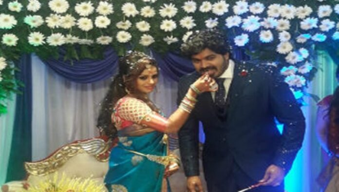 Kannada Actor Harshavardhan Engaged with Aishwarya