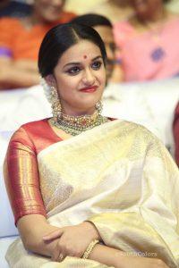 keerthi suresh photos at mahanati audio launch 1