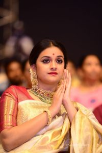 keerthi suresh photos at mahanati audio launch 10