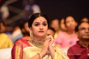 keerthi suresh photos at mahanati audio launch 11