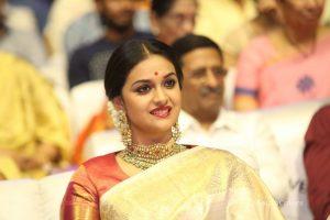 keerthi suresh photos at mahanati audio launch 2